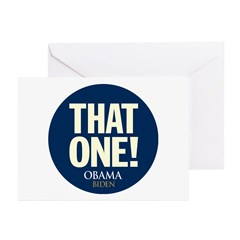 Obama THAT ONE 08 Greeting Cards (Pk of 10)