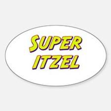 Super itzel Oval Decal