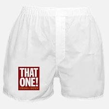 THAT ONE Obama 2008 Boxer Shorts