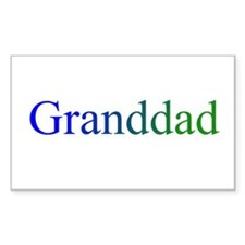 Granddad Rectangle Decal