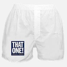 THAT ONE Obama 08 Boxer Shorts
