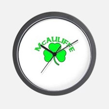 McAuliffe Wall Clock