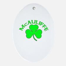 McAuliffe Oval Ornament