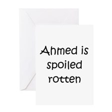 Cool Ahmed Greeting Card