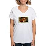 Mother & Child Women's V-Neck T-Shirt