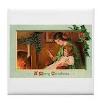 Mother & Child Tile Coaster