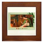 Mother & Child Framed Tile