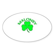 Maloney Oval Decal