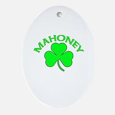 Mahoney Oval Ornament