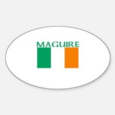 Maguire Oval Decal