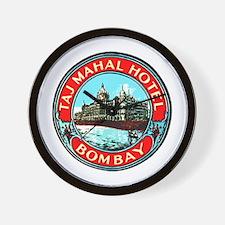 Taj Mahal Hotel Bombay Wall Clock