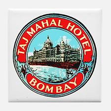 Taj Mahal Hotel Bombay Tile Coaster