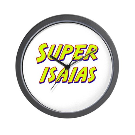 Super isaias Wall Clock