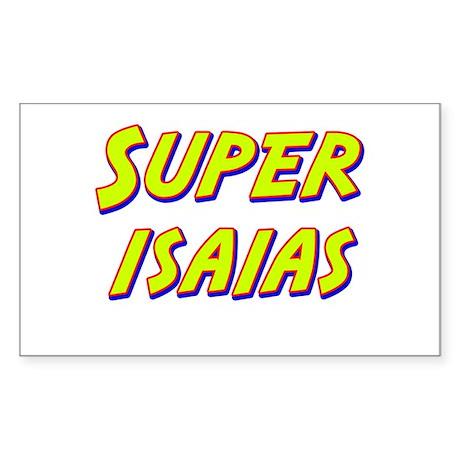 Super isaias Rectangle Sticker