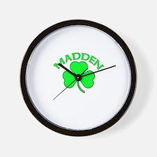 Madden Wall Clock