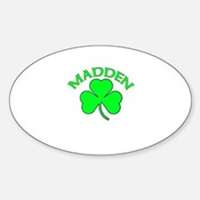 Madden Oval Decal