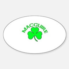 Macguire Oval Decal