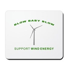 Support Wind Energy - Mousepad