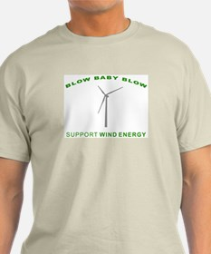 Support Wind Energy - T-Shirt