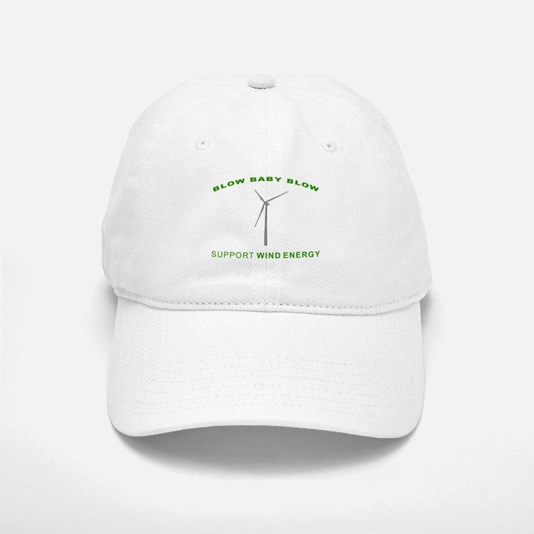 Support Wind Energy - Baseball Baseball Cap