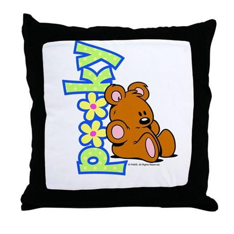 Simply Pooky Throw Pillow