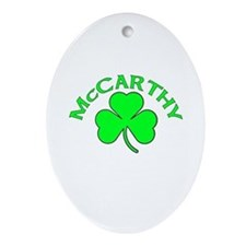 McCarthy Oval Ornament