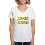 Super isabel Women's V-Neck T-Shirt