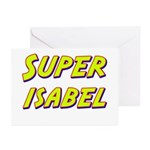 Super isabel Greeting Cards (Pk of 20)