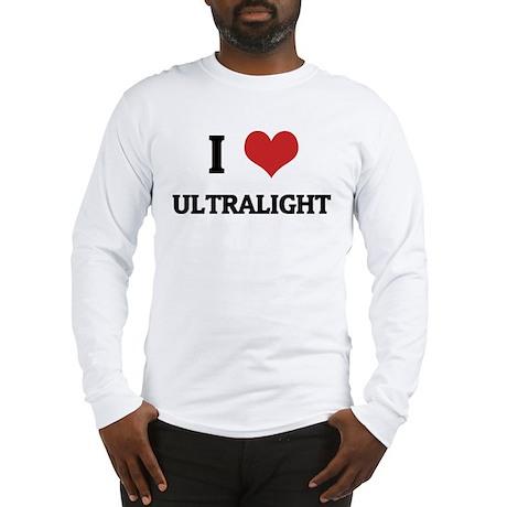 I Love Ultralight Long Sleeve T-Shirt