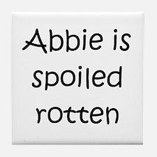 Unique Abbie Tile Coaster