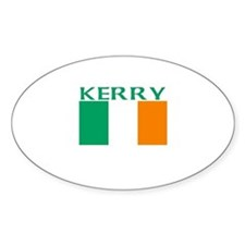 Kerry Oval Decal