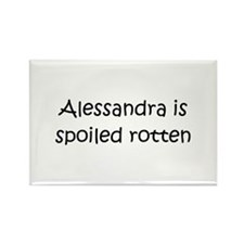 Cool Alessandra Rectangle Magnet