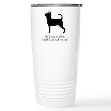 Kick Ass Chihuahua Travel Mug