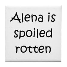 Funny Alena Tile Coaster