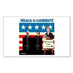 Whack A Candidate Rectangle Sticker 50 pk)