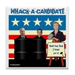 Whack A Candidate Tile Coaster