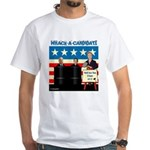 Whack A Candidate White T-Shirt