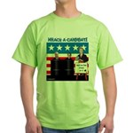 Whack A Candidate Green T-Shirt
