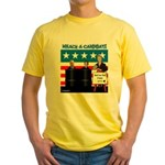 Whack A Candidate Yellow T-Shirt