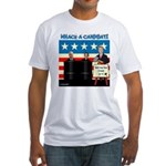 Whack A Candidate Fitted T-Shirt