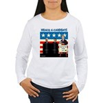 Whack A Candidate Women's Long Sleeve T-Shirt