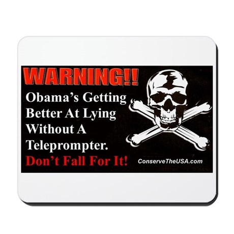 """""""Getting Better At Lying"""" Mousepad"""