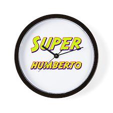 Super humberto Wall Clock