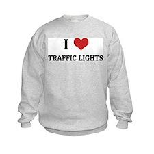I Love Traffic Lights Sweatshirt