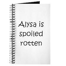 Funny Alysa Journal