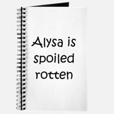 Cool Alysa Journal