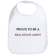 Proud to be a Real Estate Agent Bib