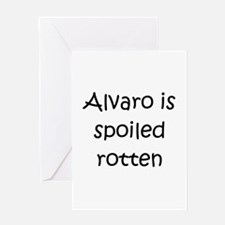 Unique Alvaro Greeting Card