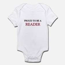 Proud to be a Reader Infant Bodysuit