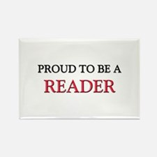 Proud to be a Reader Rectangle Magnet